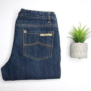 Michael Kors Bootcut Dark Wash Jeans